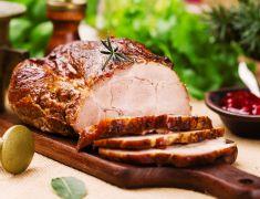 Rôti d'épaule de porc désossé (soc de porc)
