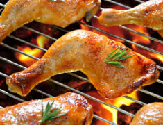 Cuisse de poulet au barbecue, un régal!